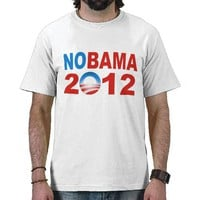 Anti Obama 2012 T Shirt from Zazzle.com