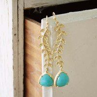 Falling Leaves Earrings, Sweet Affordable Jewelry