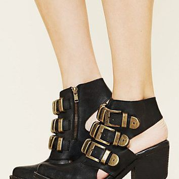 Free People Tripoli Buckle Boot