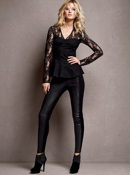 Ponte and Leather Legging - Victoria&#x27;s Secret