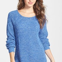 Women's Two by Vince Camuto Marled Variegated Rib Sweater