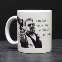 Walter from The Big Lebowski Mug by DailyGrinder on Etsy
