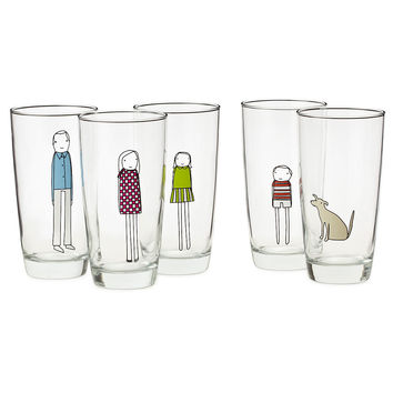 CUSTOM FAMILY GLASSWARE