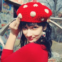 travel beret by dadaya on Etsy