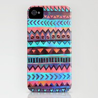 PATTERN {Tribal Stripe 003} iPhone Case by Schatzi Brown | Society6
