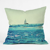 "Lisa Argyropoulos Sailin Throw Pillow - Indoor / 26"" x 26"" / Pillow Cover Only"