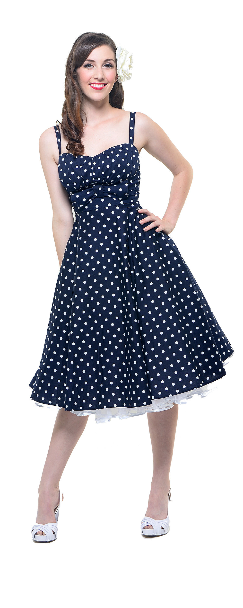Vintage Style Swing Dress