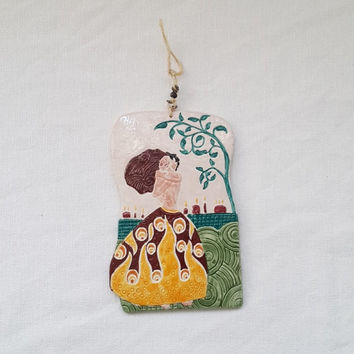 Fire Of Love/ Home Decor Wall Hanging