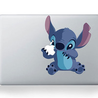 Stitch Macbook decals Decal  Vinly Mac Decal Apple Decal mac decal ipad Decal Macbook sticker Skin Decal Macbook air Macbook pro decal