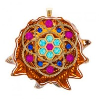 Cosmic Honeycomb with Seed of Life Multi-Glow