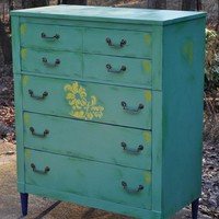 Vintage Dresser / Custom Hand Painted For You