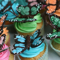 Butterfly Cupcakes » Annie's Eats