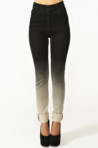 Second Skin Jeans - Ombre