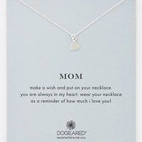 Women's Dogeared 'Mom' Boxed Pendant Necklace