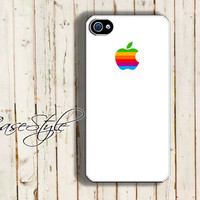 iPhone 4 case, iPhone 4s case, case for iPhone 4, Retro logo W03. Black or white.Includes a screen protector for free
