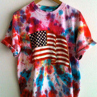 God Bless America Tye Dye shirt