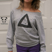 Urban Triangle Crew Neck Sweatshirt NEW design