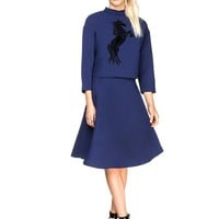 Stallion Quilted Two Piece Dress
