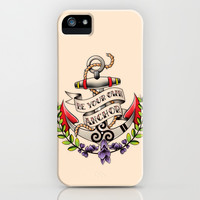 Be Your Own Anchor - Teen Wolf iPhone & iPod Case by Olivia Desianti