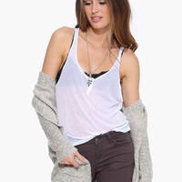 Show Off Ribbed Tank