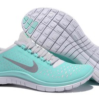 Women Nike Free 3.0 V4 Tropical Twist Reflective Silver Pro Platinum - $69.87