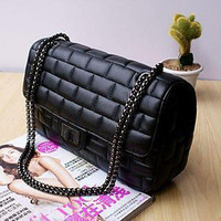 [US$ 23.19] Fashion Ladies' Chain PU Tote&Cross Body Bag(29cm*9cm*17cm)