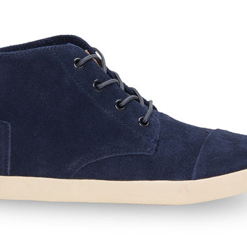 Navy Suede Women's Paseo Highs