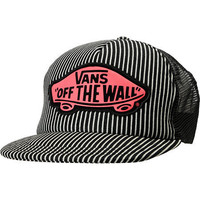 Vans Hickory Stripe Beach Girl Trucker Hat