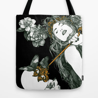 Fabula Noctis Tote Bag by Marga F Donaire