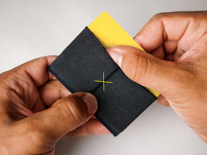 Slim - The Thinnest Wallet Ever.