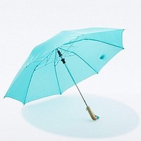 Duck Umbrella in Teal - Urban Outfitters