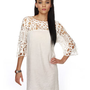 Lovely Lace Dress - White Dress - &amp;#36;38.00