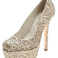 alice + olivia Larimore Laser Cut Pumps | SHOPBOP