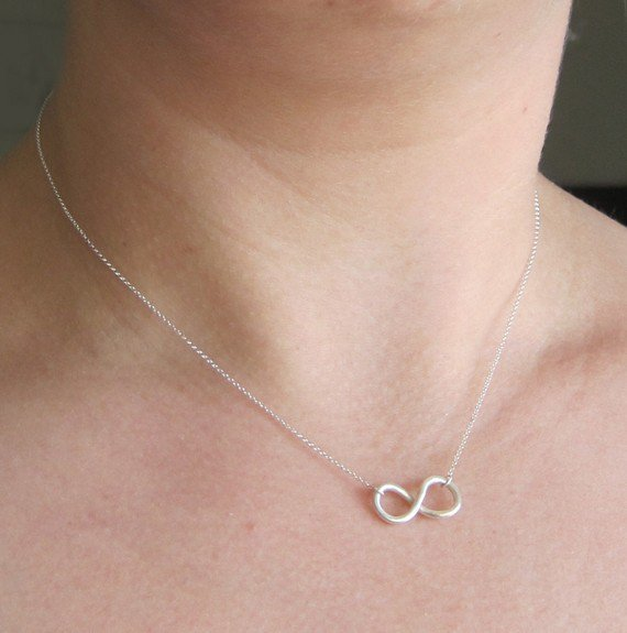 Infinity Necklace by sudlow on Etsy