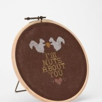 UrbanOutfitters.com > I'm Nuts About You by chez-sucre-chez Printed Wall Art