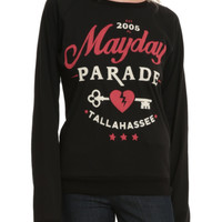 Mayday Parade Heart And Key Girls Pullover Top