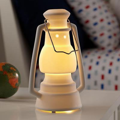 The Land of Nod: Kids Nightlight: Kids Lantern Nightlight in american kitsch