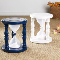 Time Out Timer Stool - White | Stools &amp; Ottomans