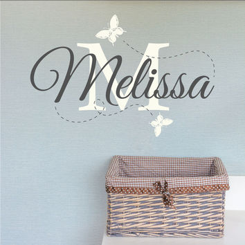 Personalised Nursery Name Wall Sticker