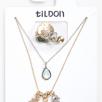 Tildon Multistrand Charm Necklace | Nordstrom