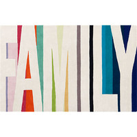 family color rug in rugs | CB2
