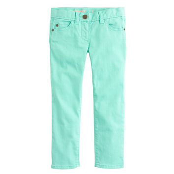 crewcuts Girls Toothpick Ankle Jean In Garment-Dyed Twill