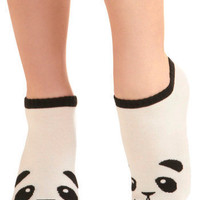 Flash in the Panda Socks | Mod Retro Vintage Socks | ModCloth.com