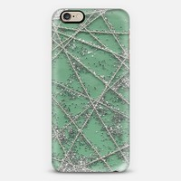 Sparkle Net Mint iPhone 6 case by Project M | Casetify