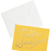 Hello Sunshine Card Set - Yellow