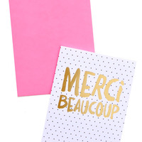 Merci Beaucoup Card Set - Set of 6
