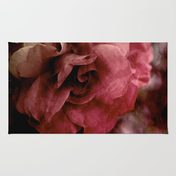one rose Rug by VanessaGF