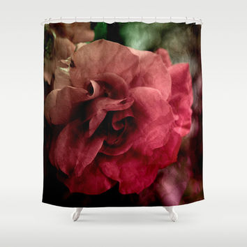 one rose Shower Curtain by VanessaGF