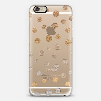 EARTH DOTS - CRYSTAL CLEAR PHONE CASE iPhone 6 case by Nika Martinez | Casetify