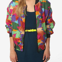 Urban Renewal Silk Bomber Jacket